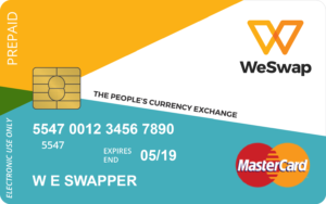 The WeSwap MasterCard