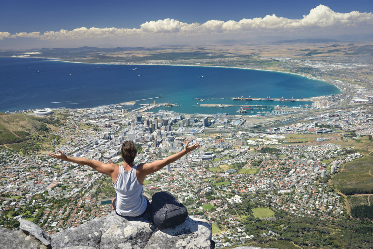 Table Mountain traveller