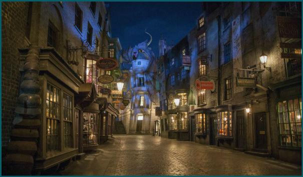 Universal Studios now boasts the Wizarding World of Harry Potter too!