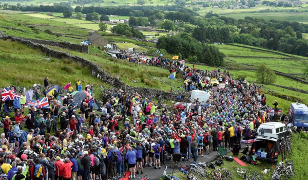 The Tour de France in Yorkshire, another cause of cycle-mania