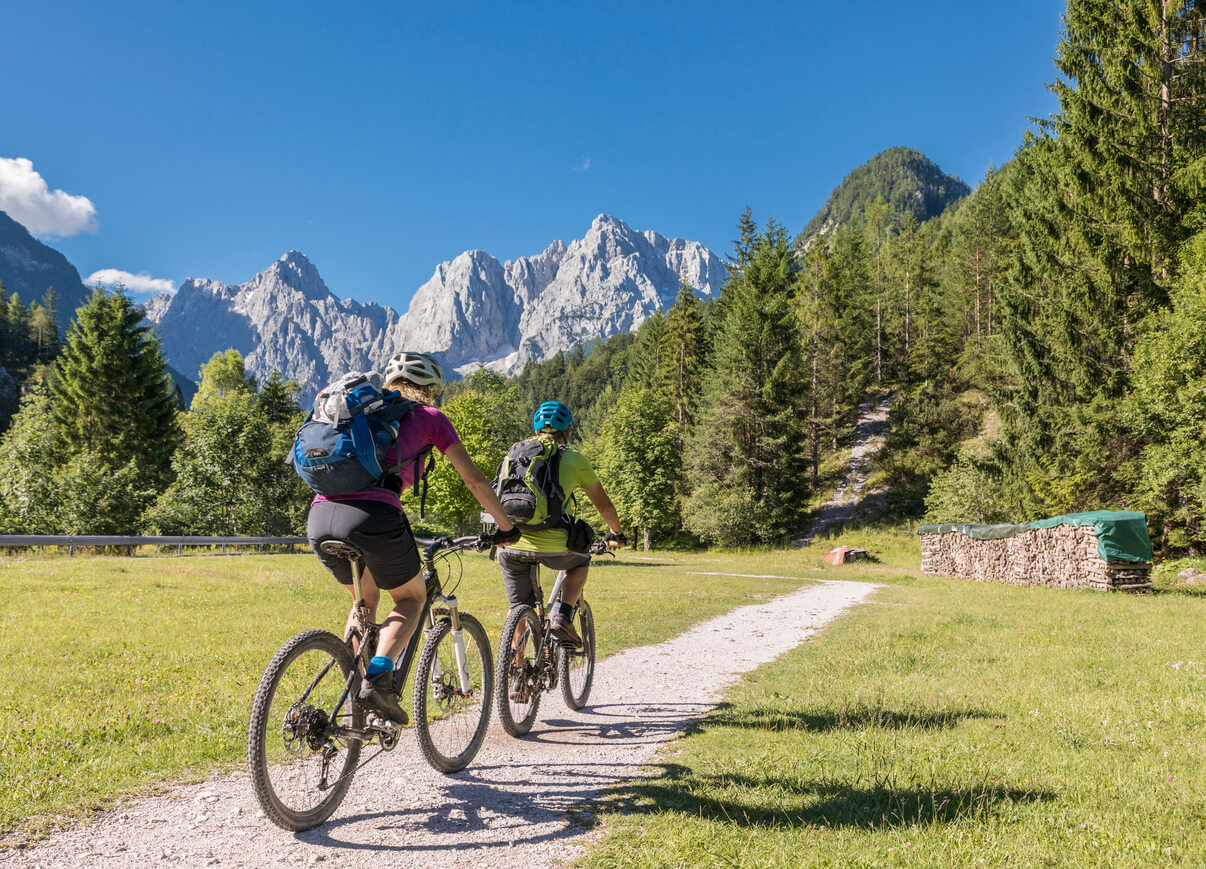 cycling through Slovenia