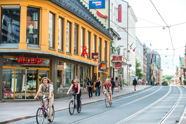 Cycling in Oslo