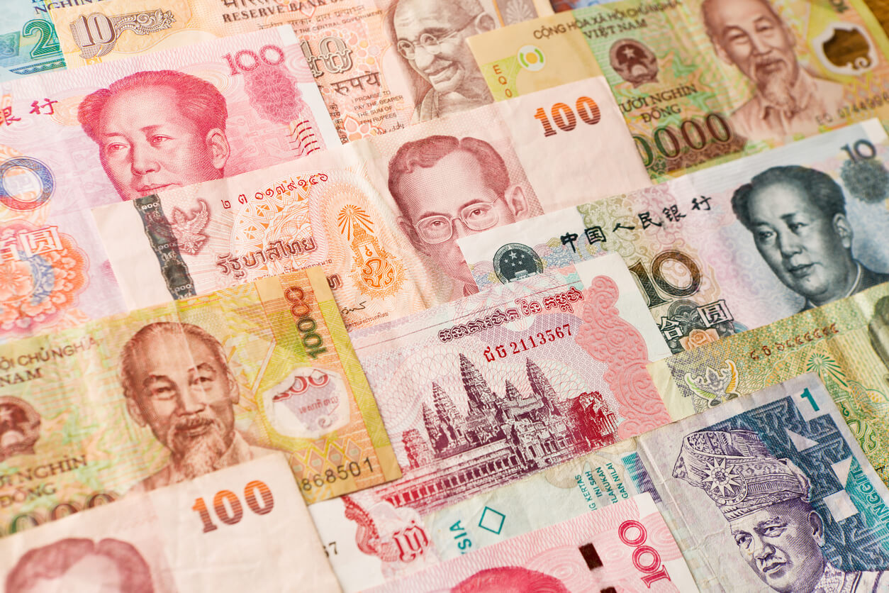 Asian Currency Banknotes